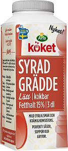 Arla Köket® syrad grädde lätt 15%