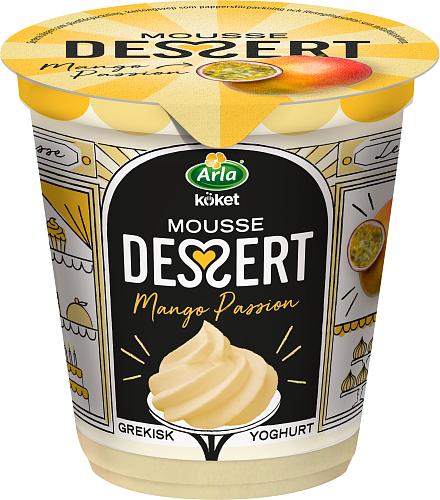 Arla Köket® mousse mango & passion