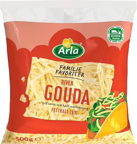 Arla® Familjefavoriter Gouda 28% Riven