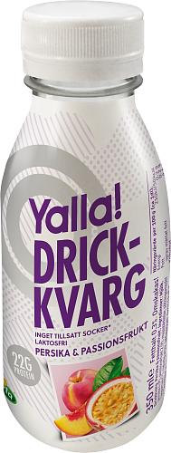 Yalla® drickkvarg persika/passion