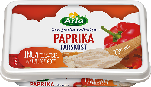 Arla® Färskost Paprika 23%