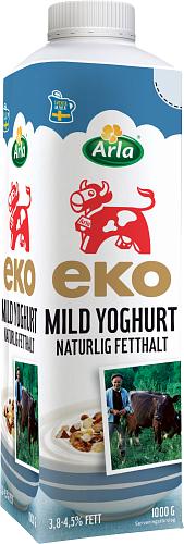 Arla Ko® Ekologisk Eko mild yog naturell 3,8-4,5%