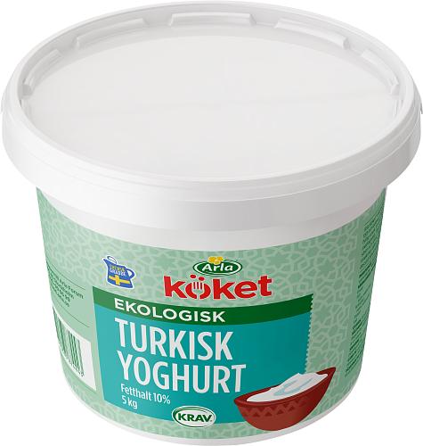Arla Köket® ekologisk turkisk yoghurt 10 %