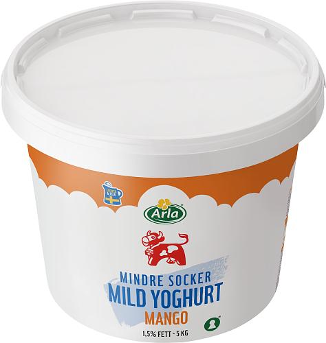 Arla Ko® Mild Yoghurt Mango lättsock 1,5%
