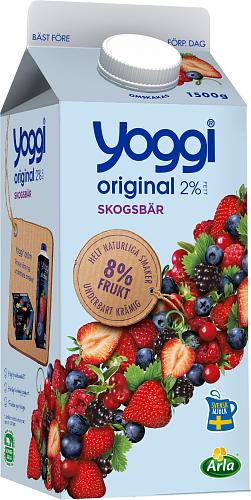 Yoggi® Original skogsbär