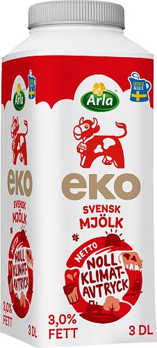 Arla Ko® Ekologisk Standardmjölk 3% Eko TT