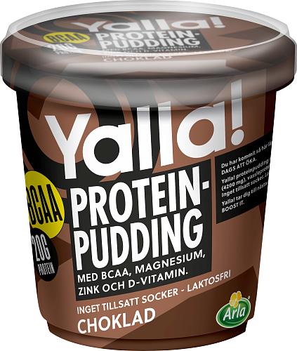 Yalla® Proteinpudding BCAA Choklad