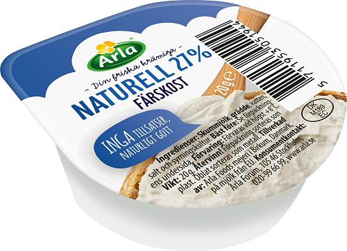 Arla® Färskost Naturell Portion 27%