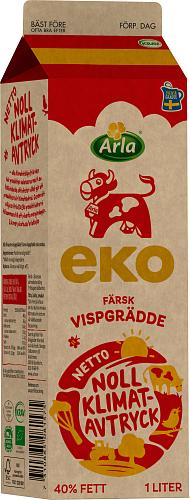 Arla Ko® Ekologisk Färsk ekologisk vispgrädde 40%