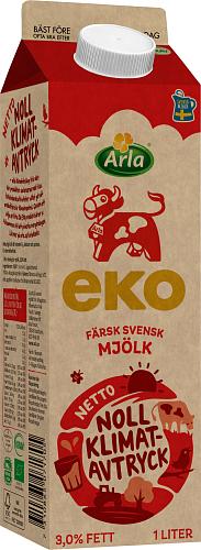 Arla Ko® Ekologisk Standardmjölk 3,0%