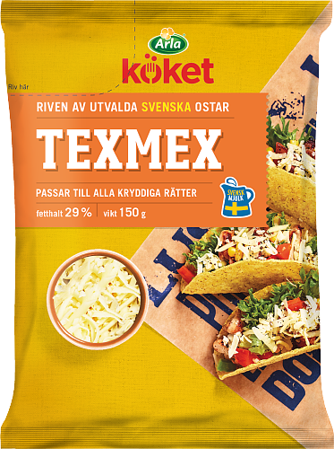 Arla Köket® Riven ost Texmex 29%