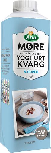Arla® &More Yoghurtkvarg Naturell