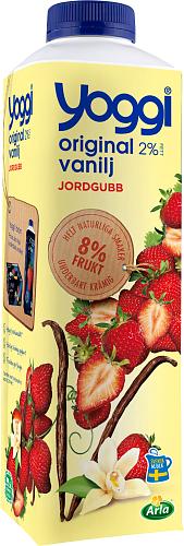 Yoggi® Original jordgubb & vanilj