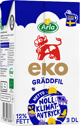 Arla Ko® Ekologisk ekologisk gräddfil 12%