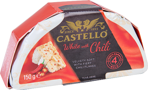 Castello® White with Red Chili 39%