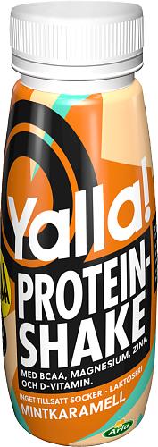 Yalla® Proteinshake BCAA Mintkaramell