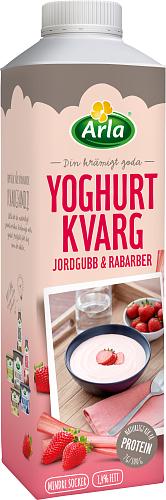Arla® Yoghurt Kvarg Jordgubb/Rabarber