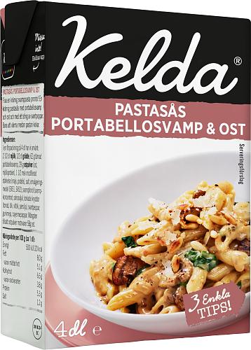 Kelda® Pastasås Portabellosvamp & ost