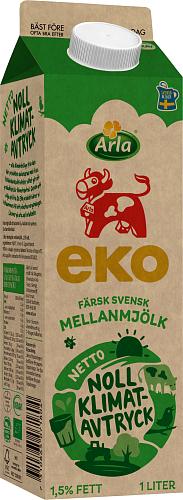 Arla Ko® Ekologisk Mellanmjölk 1,5%