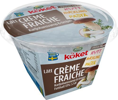 Arla Köket® lätt crème fraiche karljohansvamp timjan 13%