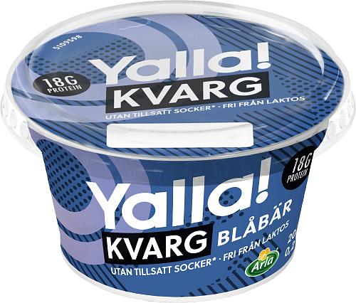 Yalla® kvarg blåbär