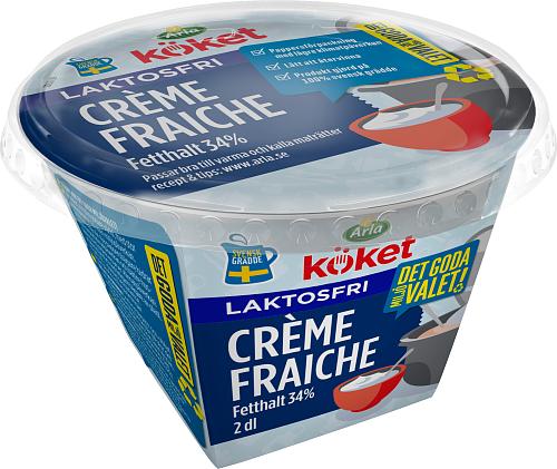 Arla Köket® laktosfri crème fraiche 34%