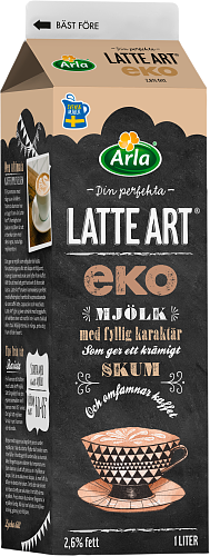 Arla® Latte Art® EKO 2,6%