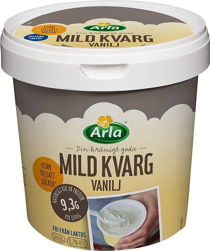 Yalla® mild kvarg vanilj