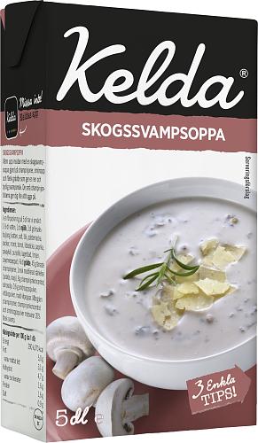 Kelda® Skogssvampsoppa 5%