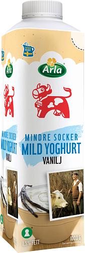 Arla Ko® Lättsockrad vanilj yog 1,5%
