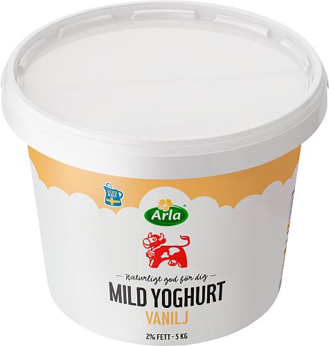 Arla Ko® Mild Yoghurt Vanilj 2 %