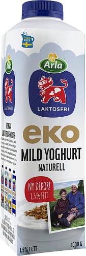 Arla Ko® Ekologisk Laktosfri eko mild yoghurt naturell