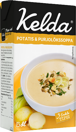 Kelda® Potatis & purjolöksoppa