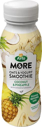 Arla & More® oat & yoghurtsmoothie ananas & koko