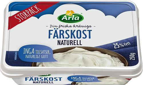 Arla® Färskost Naturell 25%