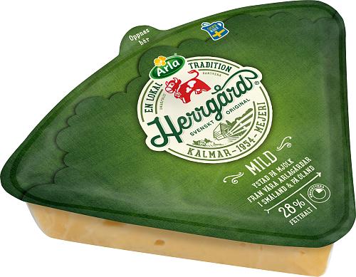 Arla Ko® Herrgård 28% Mild 1/8-del