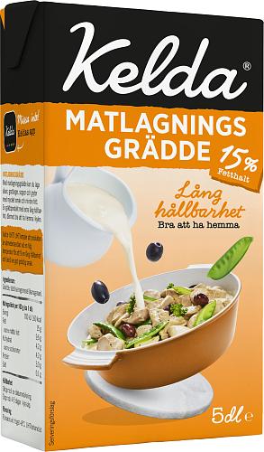Kelda® Matlagningsgrädde 15%