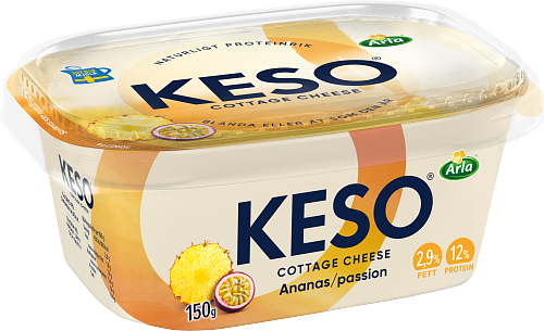 KESO® Cottage Cheese Ananas & Passion