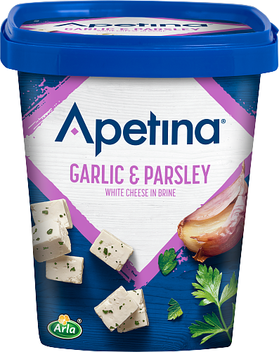 Apetina® Vitost tärnad i lake vitlök/persilja 22%