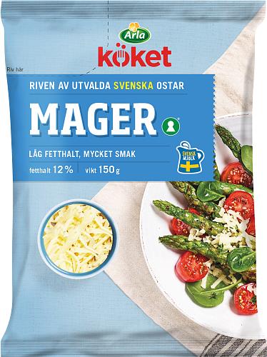 Arla Köket® Riven ost Mager 12%