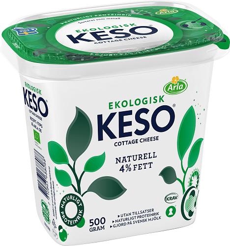 KESO® Cottage Cheese Ekologisk 4%