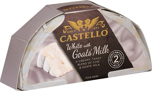 Castello® White with goats milk 39%