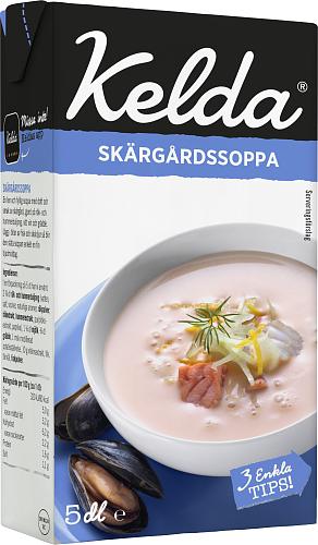Kelda® Skärgårdssoppa 5%