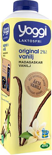 Yoggi® Original laktosfri madagaskar vanilj