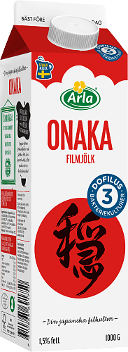 Arla® Onaka Plus Dofilus 1,5% - GT 2x3