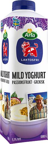 Arla Ko® Laktosfri Grekisk yoghurt Passionsfrukt