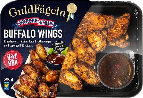 Buffalo Wings – Snacks n`Dip