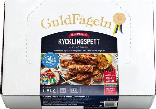 Grillade Kycklingspett Grill