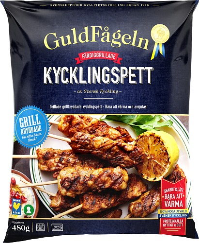 Grillade Kycklingspett Barbecue